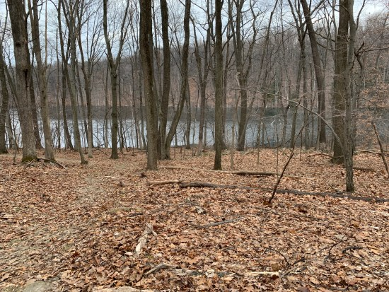 Walking Merrill Creek Reservoir