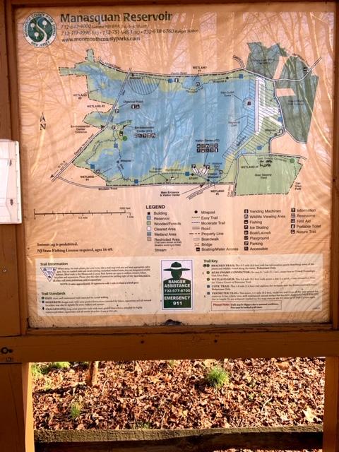 manasquan reservoir perimeter trail