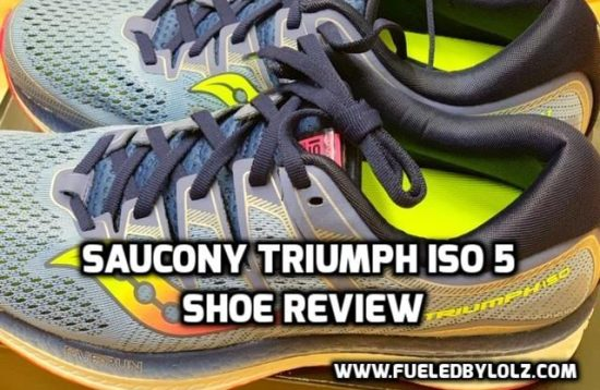 saucony triumph iso 5 shoe review