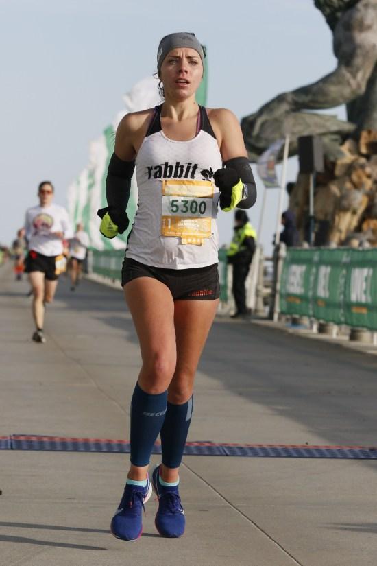 Yuengling Shamrock Half Marathon Virginia Beach me running