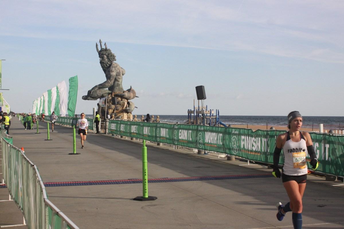 Shamrock Half Marathon (1:29.52)