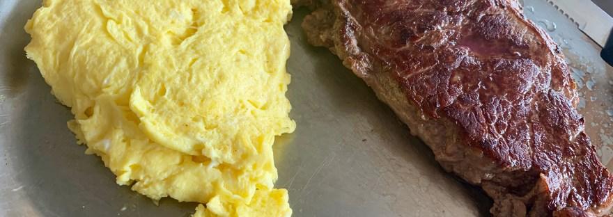Vegas Diner wildwood steak and eggs