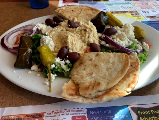 Lyndon Diner (York, PA) greek platter