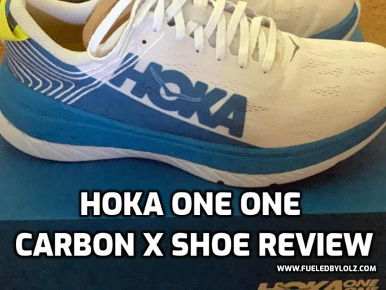 Hoka One One Carbon X Shoe Review