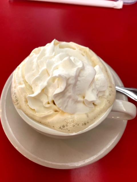 Vicki's Diner Westfield coffee