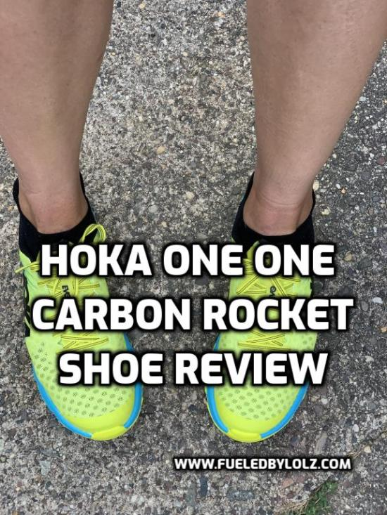 Hoka one one carbon rocket