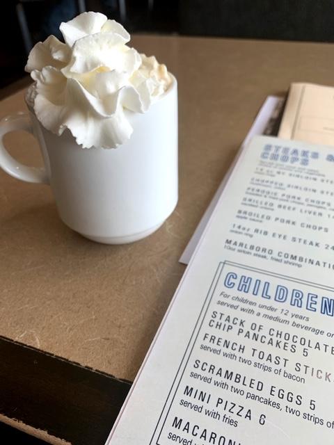 Marlboro Diner coffee