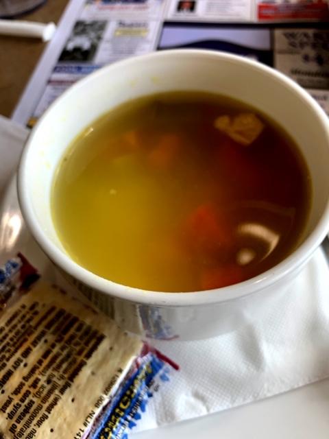 Marlboro Diner soup
