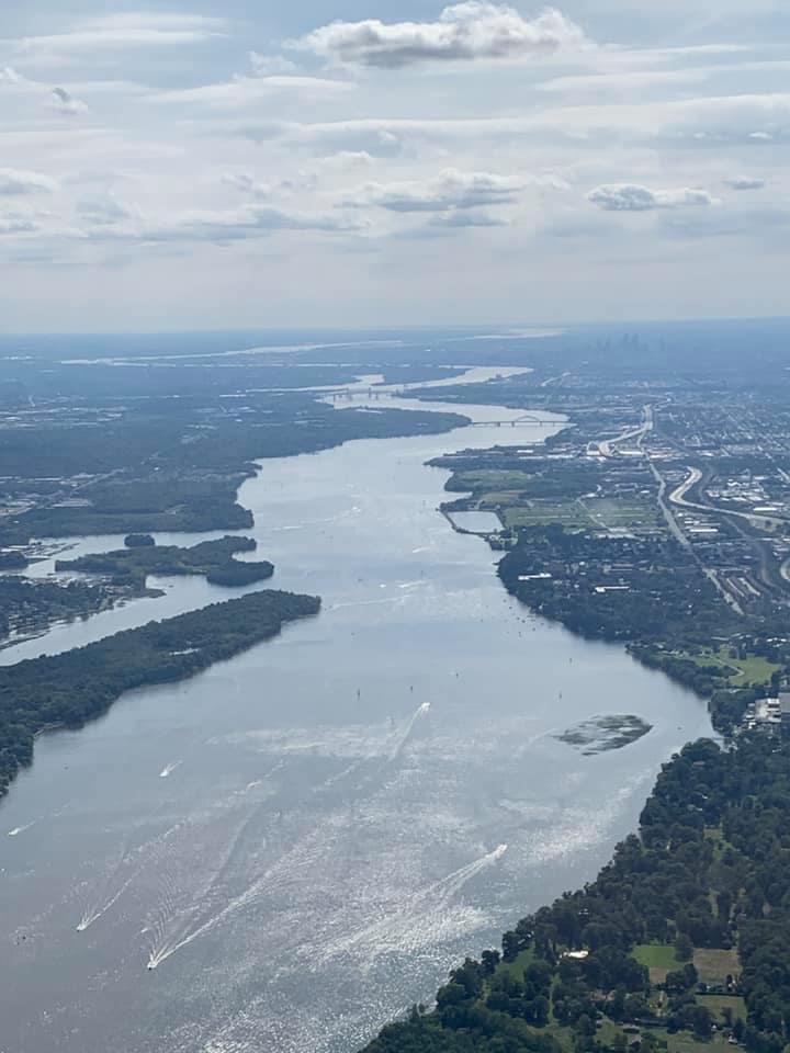 Private Flying Delaware River