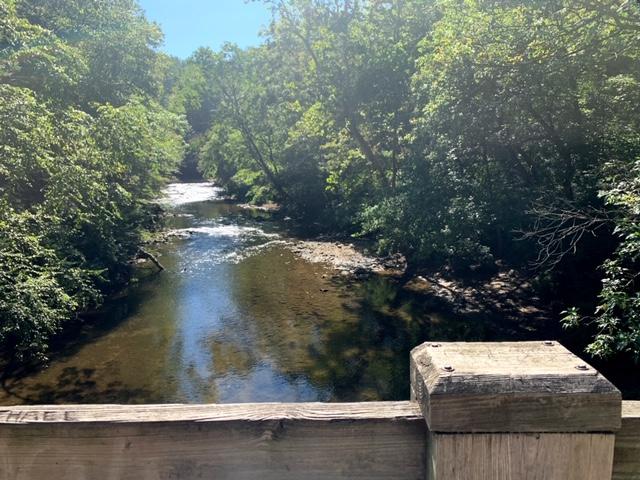 hiking Wissahickon Creek Gorge Loop Trail