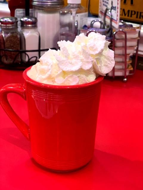 JB's 57 Diner coffee