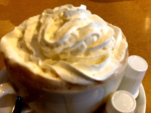 Vincentown Diner coffee