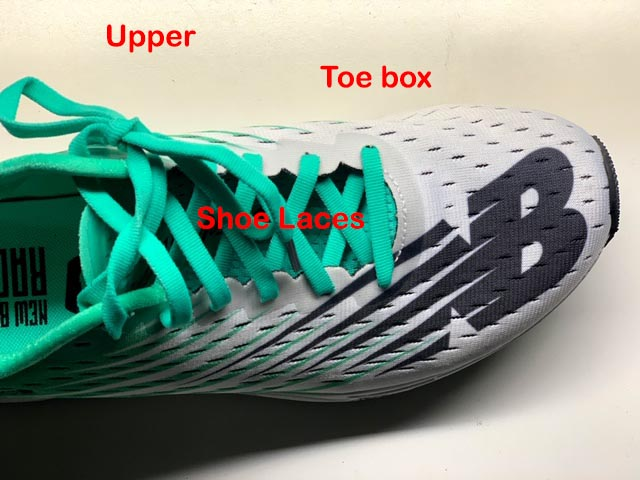 The anatomy of a running shoe