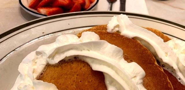 Spa Diner (Hoboken) pancakes