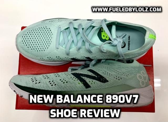 New Balance 890v7 Shoe Review
