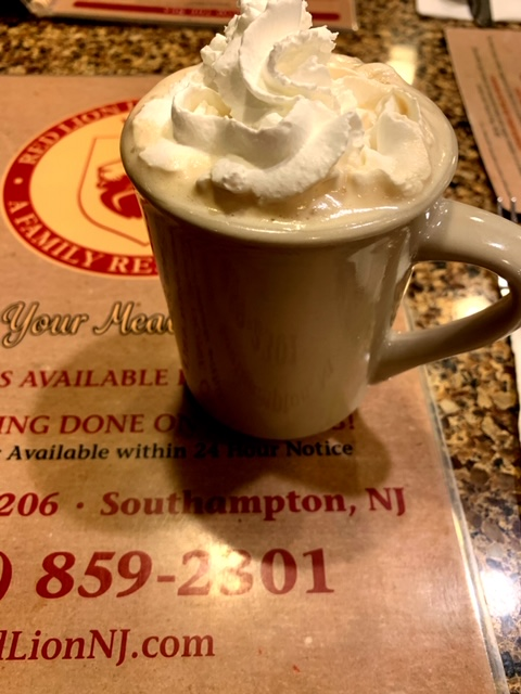 Red Lion Diner Southampton NJ coffee