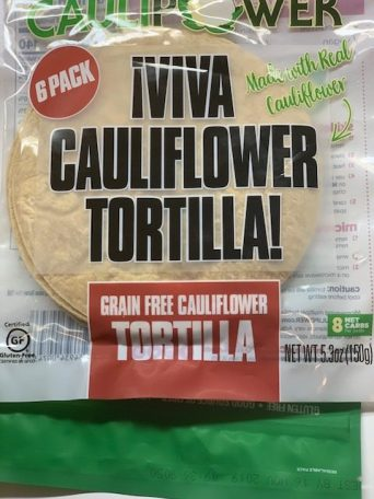 CAULIPOWER wrap