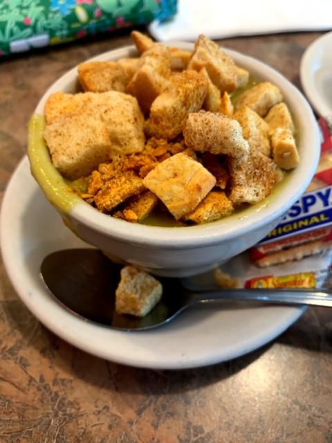 Sunrise Diner (Roselle Park) split pea soup