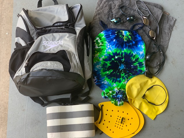 What's in My Lap Swimming Bag