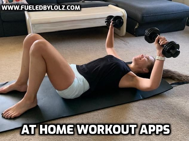 At Home Workout Apps