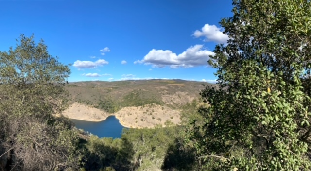 Hiking the Rector Reservoir (Napa)