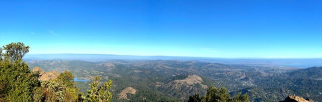 Mount Tamalpais State Park view