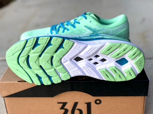 361 Degrees Spire 4 Shoe Review