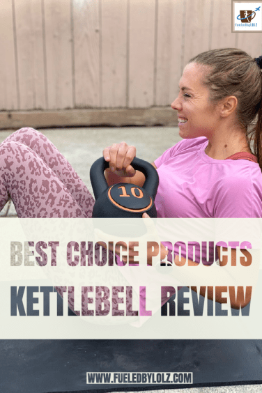 Best Choice Products 3-Piece Kettlebell Exercise Fitness Weight Set w/ Storage Rack