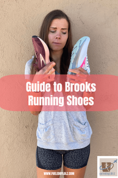 Guide to Brooks running shoes