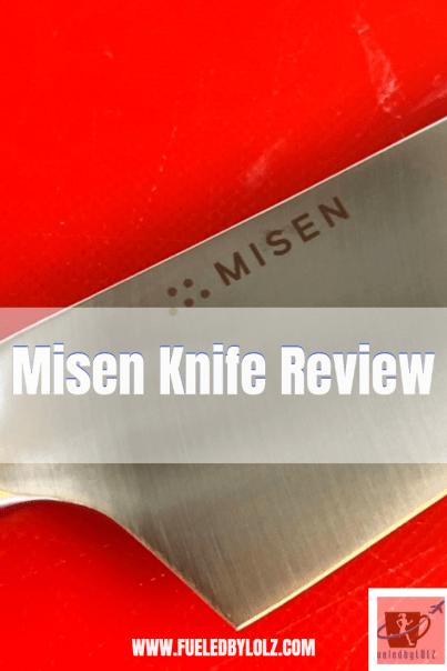 Misen knife review