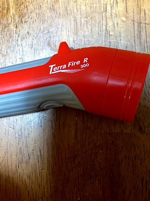 Nathan Terra Fire 300 R LED Hand Torch
