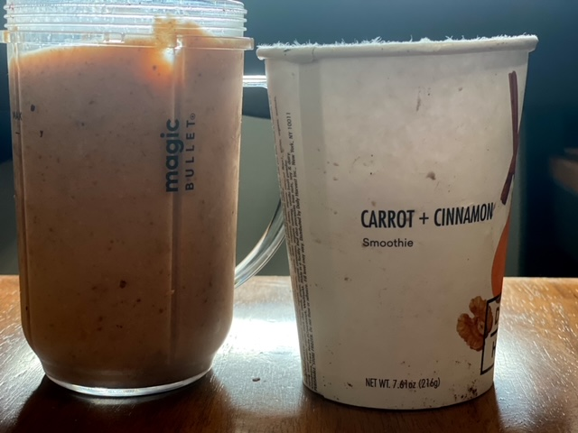 Daily Harvest Review oat smoothie