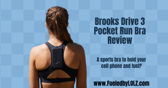 Brooks Drive 3 Pocket Run Bra Review