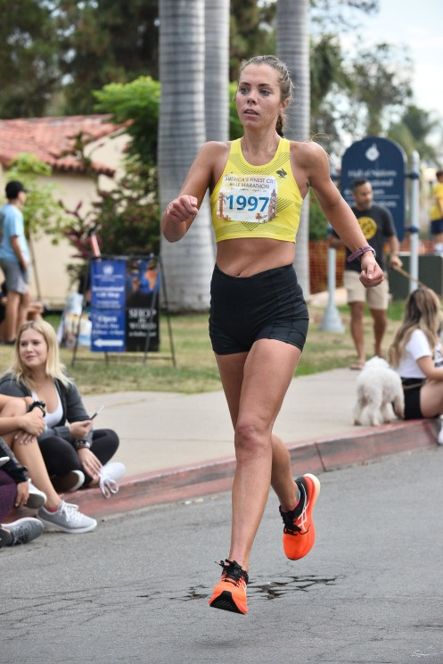 America's Finest City Half Marathon Recap (1:33.22) me running