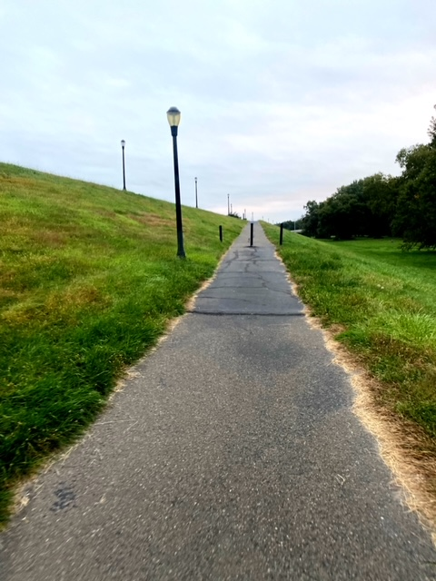 Running Luzerne County Levee Trail