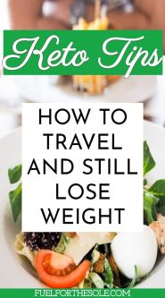 keto friendly diet when traveling