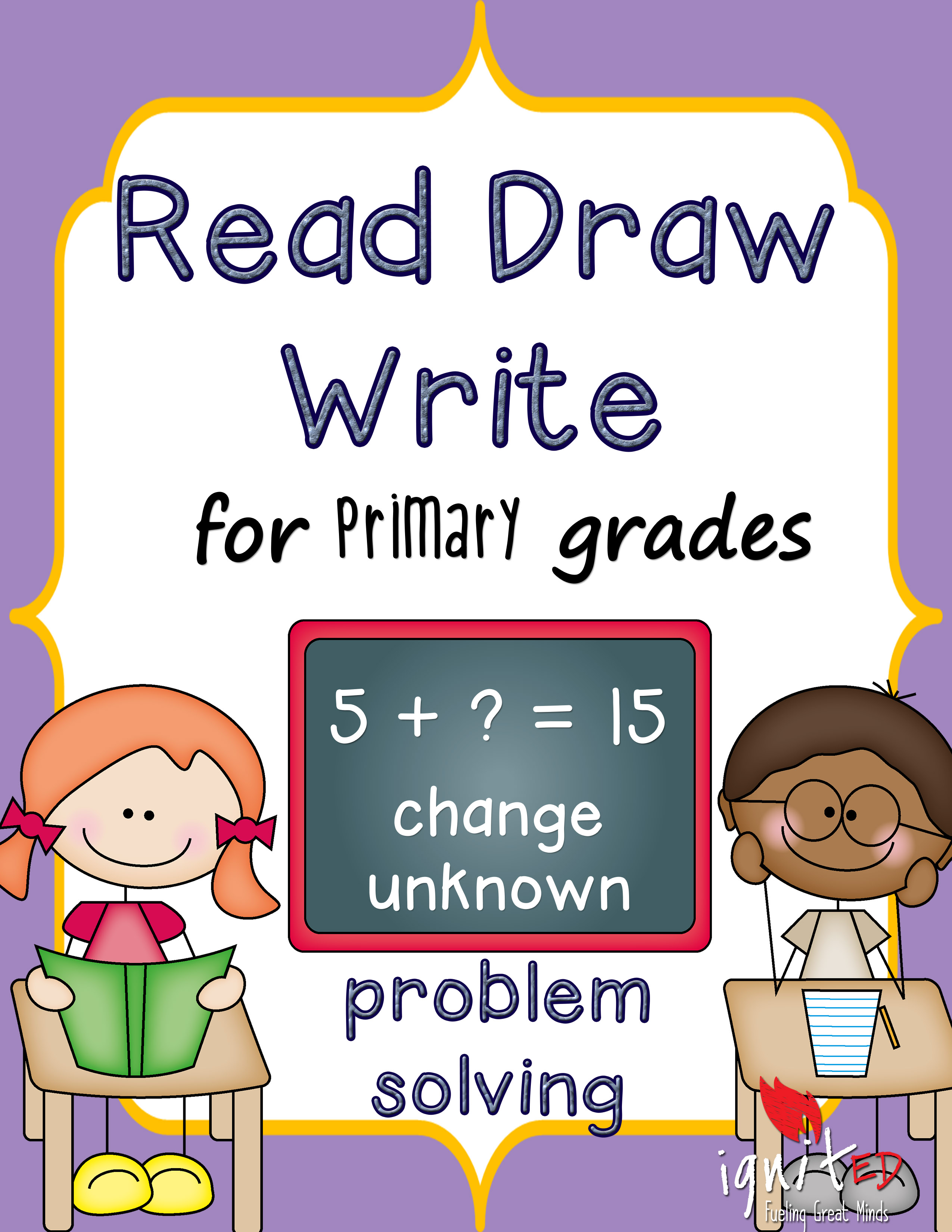 Problem Solving Read Draw Write For Primary Students