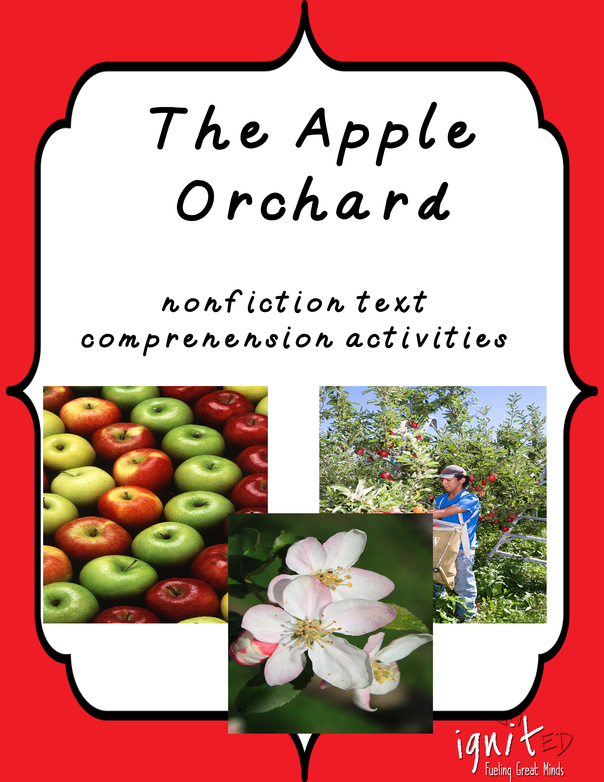Informational Text Comprehension The Apple Orchard