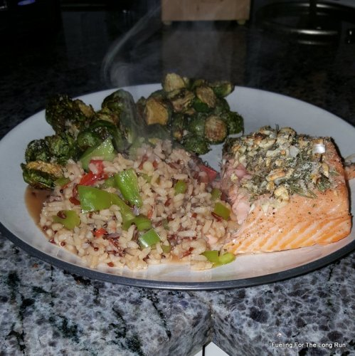 Pinterest Challenge 2016 - Rosemary Garlic Salmon
