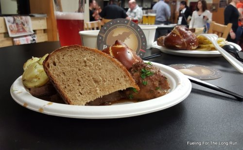 Breads and Brews II - German Fare Another angle