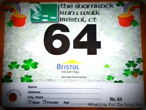 Bristol Shamrock Run & Walk - Bib