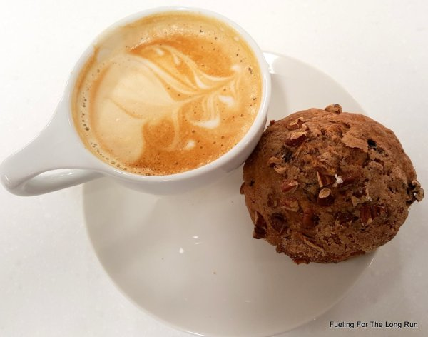 Latte and Morning Glory Muffin