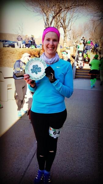 Shamrock Run & Walk - Age Group Winner