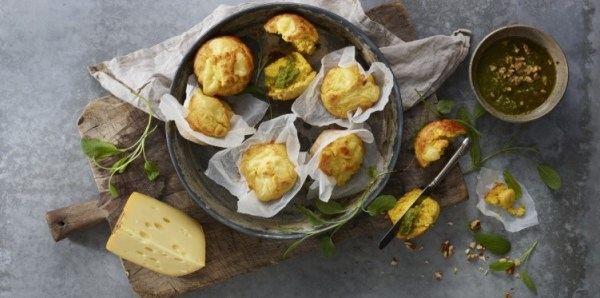 Muffing with Jarlsberg® Cheese