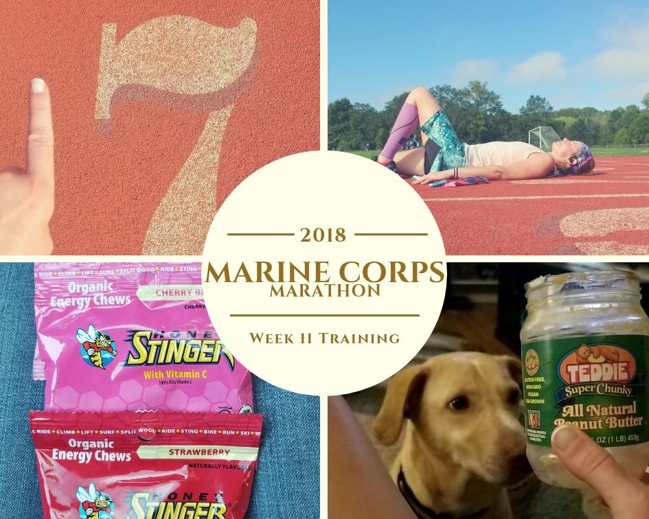 Marine Corps Marathon Training - Week 11