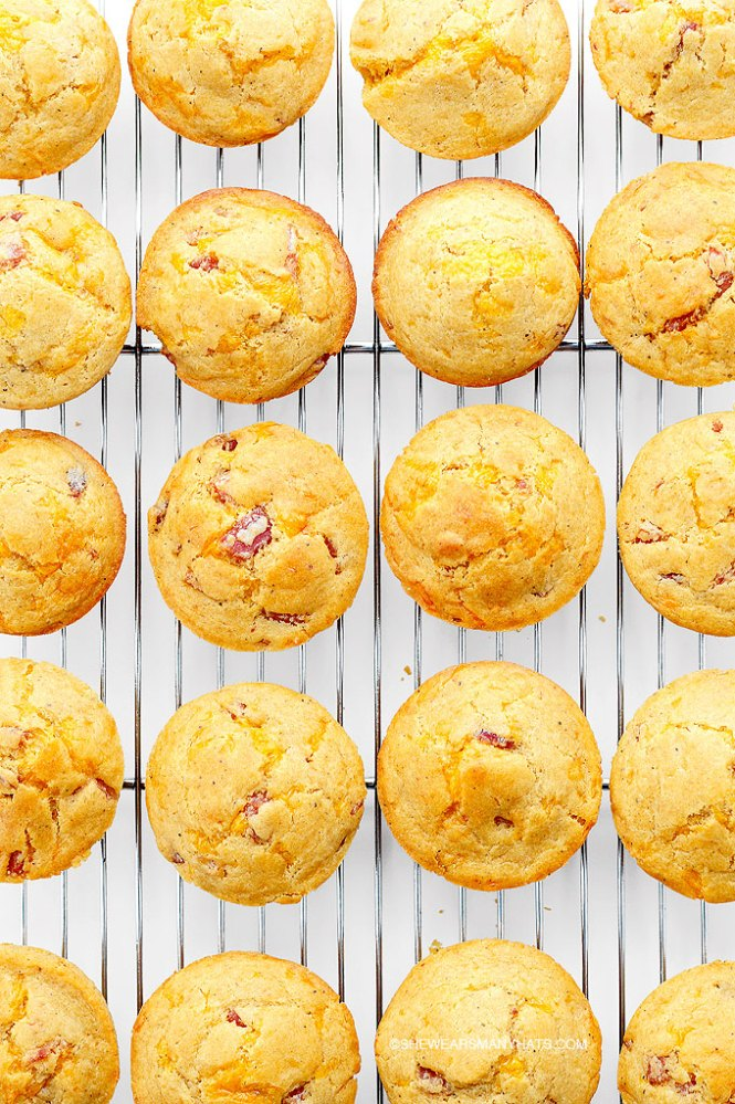 Ham and Cheese Breakfast Muffins