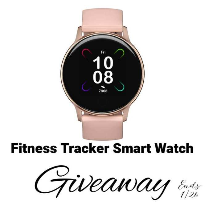 Fitness Tracker Smart Watch Giveaway