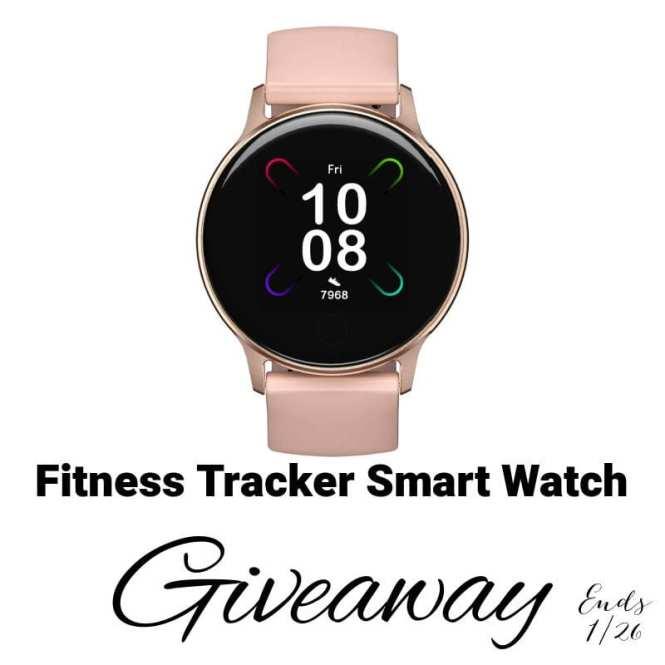 Fitness Tracker Smart Watch Giveaway