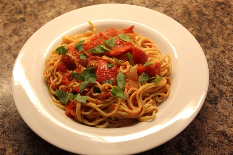 How to actually use a pasta machine to make spaghetti