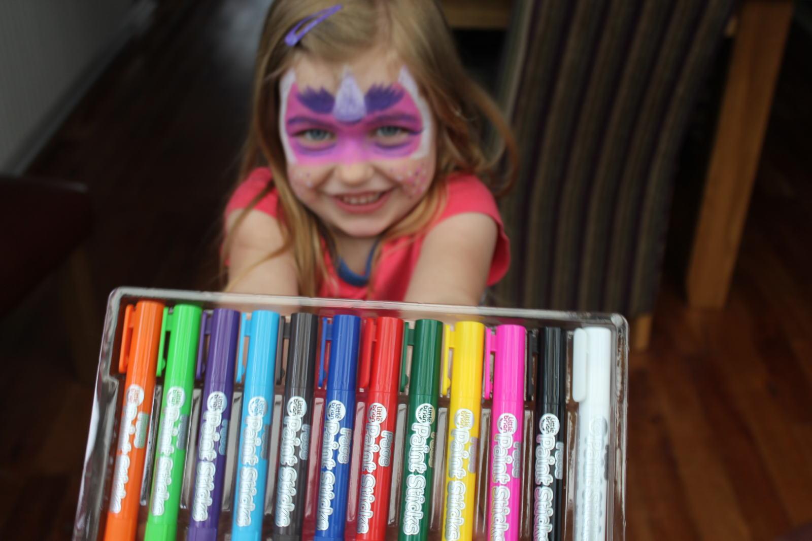 Little Brian Face Paint Sticks Review